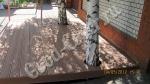 Патио из ДПК