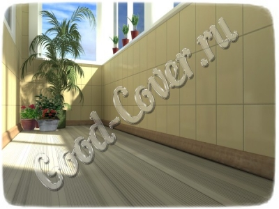 Балконы из ДПК