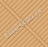 Разнонаправленная укладка террасной доски