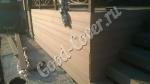 Монтаж/обшивка террасной доской фасад веранды