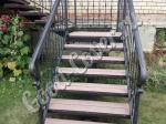 Лестницы из ДПК