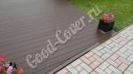 Дорожки в турбазе «Волжино» из ДПК доски Good Cover Стандарт