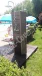 Изготовление душевой в турбазе Волжино из террасной доски ДПК Стандарт коричневого цвета