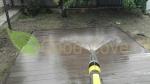 Пример ухода за древесно-полимерным композитным покрытием с использованием средства для очистки ДПК Good Cover