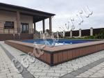 Монтаж террасной доски Good Cover Стандарт 22 мм цвет коричневый вокруг бассейна (сентябрь 2017г)