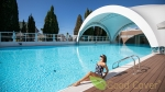 Комплекс бассейнов Breeze в Bridge Resort Сочи - Террасная доска из ДПК Good Cover