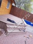 Монтаж террасы и лестницы из доски Good Cover стандарт цвет коричневый