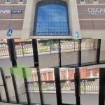 Монтаж террасной доски из ДПК выполнен на балконе ТЦ Победа Плаза Саратов